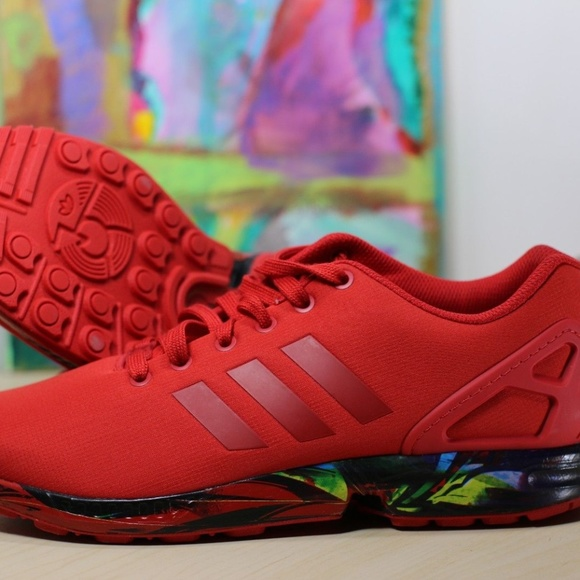 adidas Shoes   Zx Flux Aq3098 Red Mens
